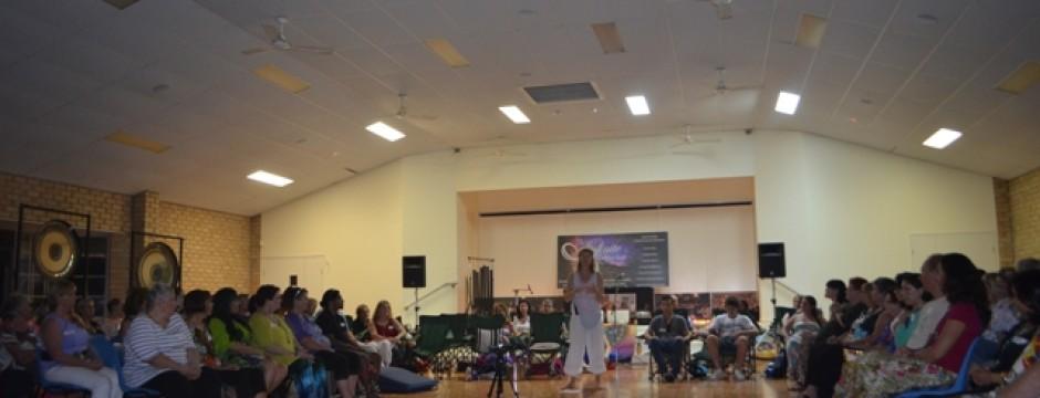 Sound and Spirit Meditation Gold Coast with Lyza Saint Ambrosena and Healing Hertz