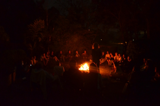 meditation gold coast firepit  meditation