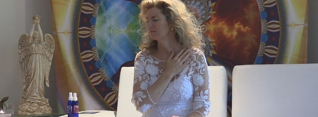 channeling divine guidance with Lyza