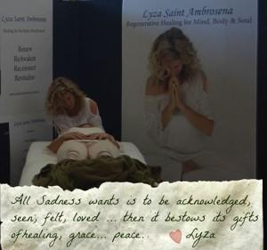healing with Lyza Saint Ambrosean