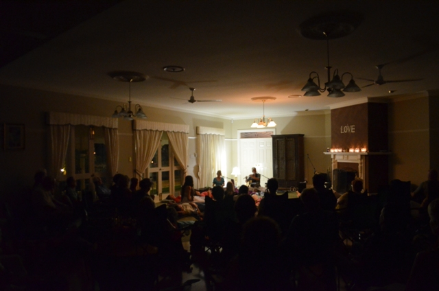 Here are some great pictures from a wonderful night with Terry Oldfield