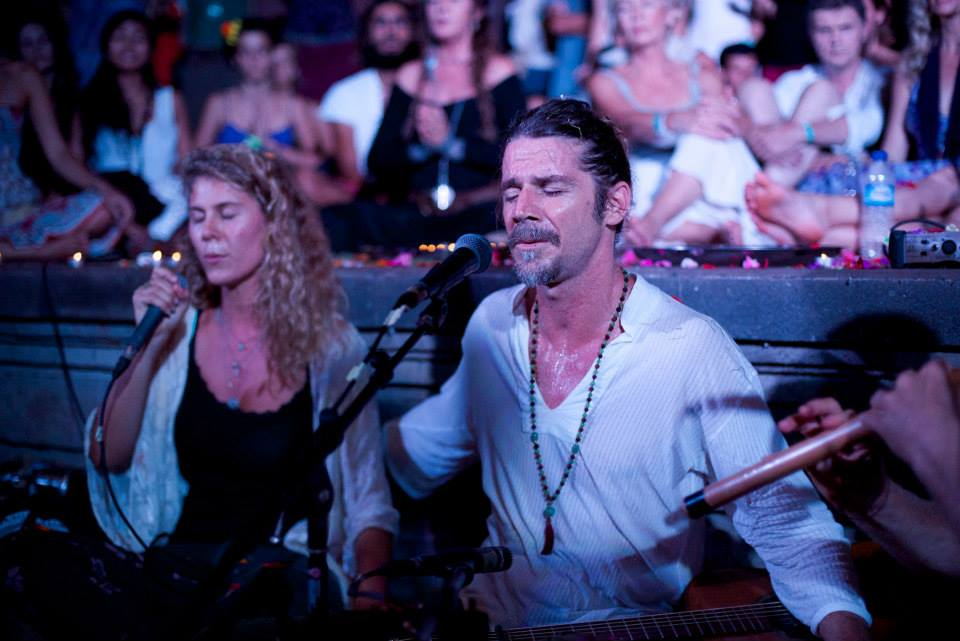 Mel Dobra Recently supported Kevin James Carroll at the Bali Spirit Festival