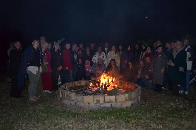Photos from Medicine Crow at the Infinite Connection Fire and Pipe Ceremony in 2013