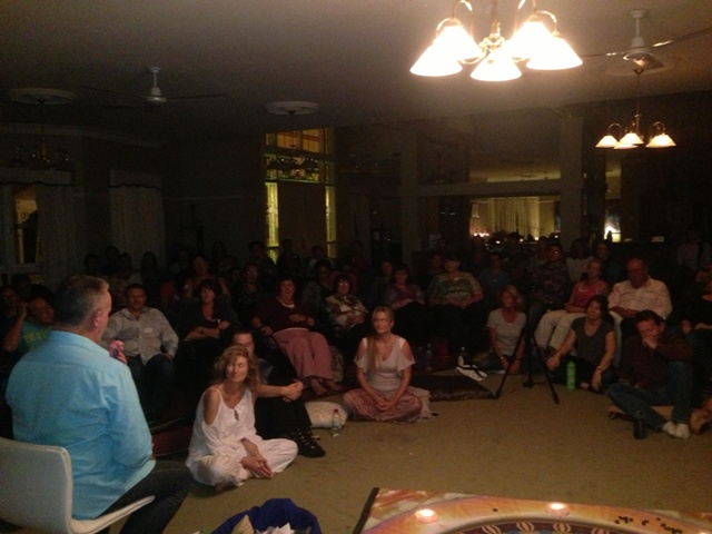 Her are some great images of our gold coast meditaton night with David Laws and Lyza Saint Ambrosena