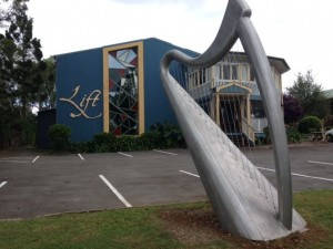 """Lift"" the amazing Life Art Gallery, sound and light discovery centre. 926 Maleny - Montville Road, Maleny."