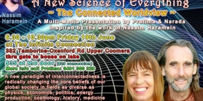 Pratima and Narada present 'A New Science of Everything'