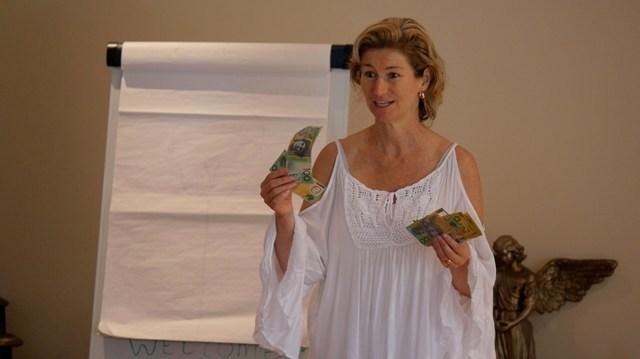 the gift spiritual development with Lyza Saint  Ambrosena