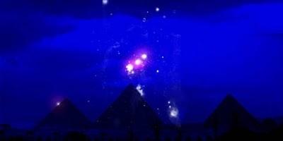 Pleiades, Orion, Sirius.