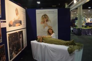 Lyza at the conscious life expo