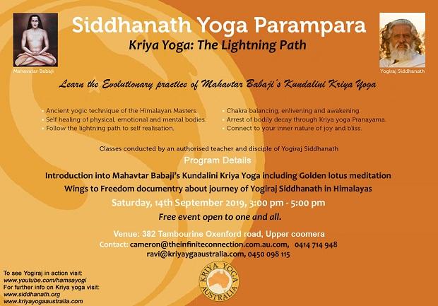 Kriya Yoga Gold Coast